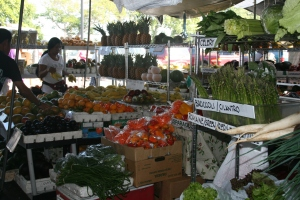 Always a great selection of island fruits and vegetables